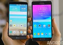 Comparación - Samsung Galaxy Note 4 vs LG G3, dos pantallas QHD