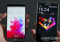 Comparatif : Samsung Galaxy Note 3 vs LG G3 [Vidéo]