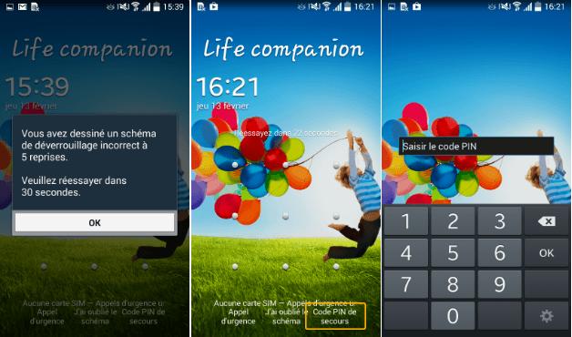 Samsung Galaxy S4 : comment faire si vous avez oublié votre code déverrouillage ?