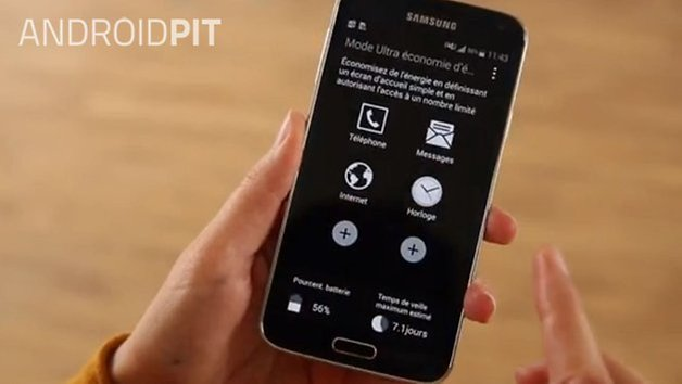 samsung galaxy s5 powermode