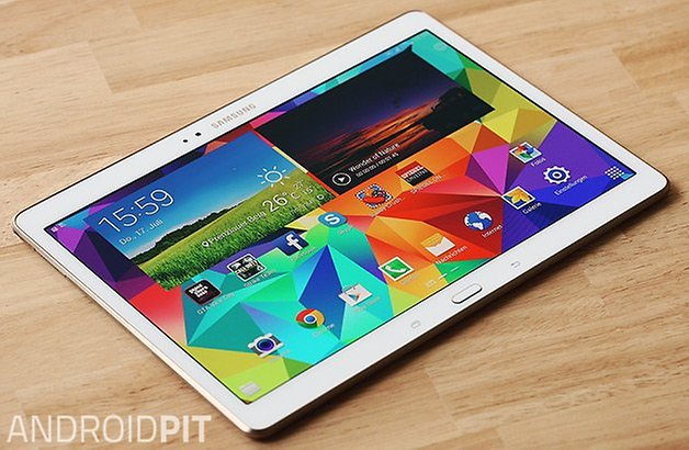 samsung galaxy tab s 10 5 front perspektive