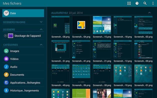 Touchwiz, Samsung Galaxy Tab S 10.5
