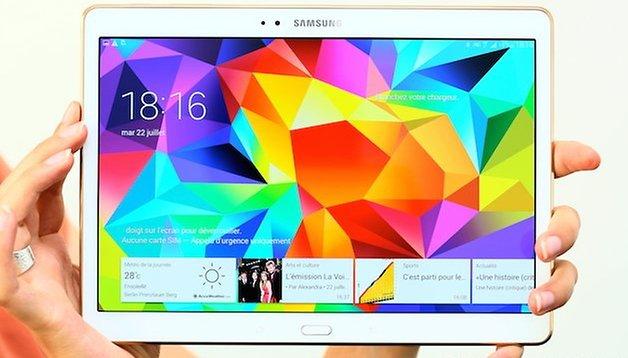 Test de la Galaxy Tab S 10.5 : Samsung a vu grand