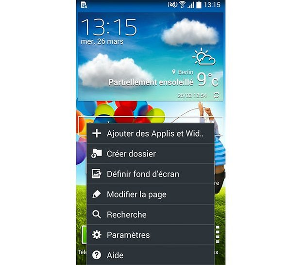 Touche retour Galaxy grand prime - Communaut Orange