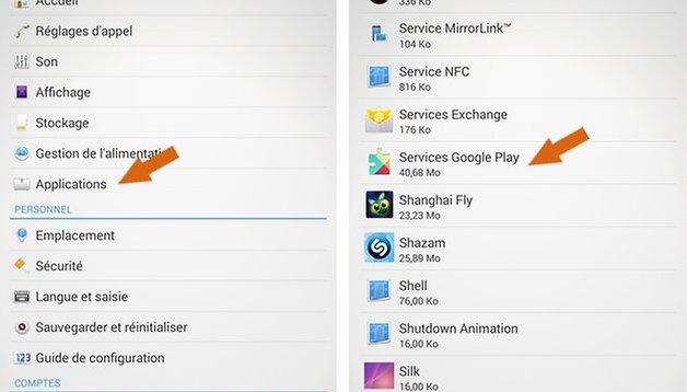 Android 4.4.2 sur Sony Xperia Z et Tablet Z : comment régler le problème de batterie
