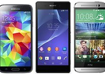 HTC One M8 vs. Galaxy S5 vs Xperia Z2: flagship unite!