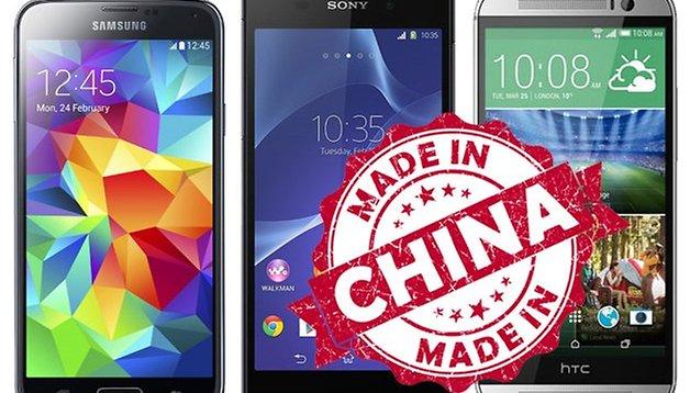 Copies chinoises du Galaxy S5, HTC One (M8) et Xperia Z2 : bon plan ?