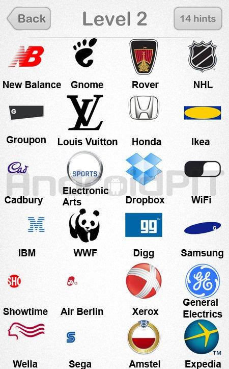 solution compl232te logo quiz emerging games niveau 2