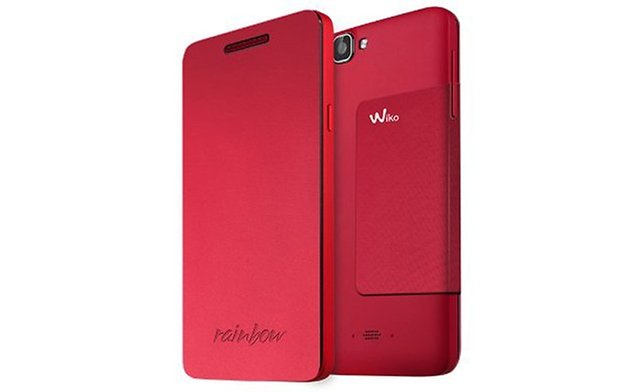 wiko rouge housse 2
