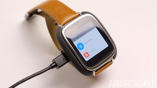 Asus zenwatch charger front