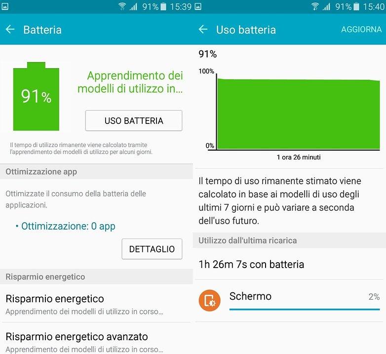 Galaxy A3 battery