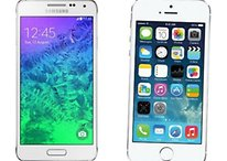 Samsung Galaxy Alpha vs iPhone 5s : points communs et différences
