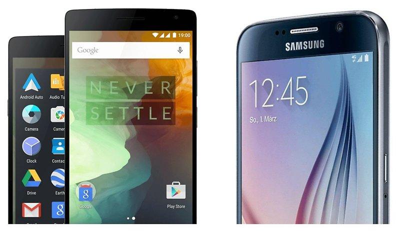 OnePlus 2 vs. Samsung Galaxy S6: Wer killt hier wen?