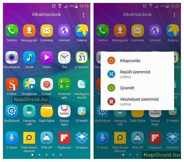 Samsung Galaxy Note 4 aggiornamento: il nuovo update punta