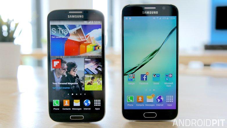 Samsung galaxy s6 vs s4 teaser