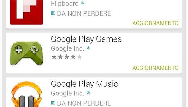 Gli ultimi aggiornamenti delle app Android