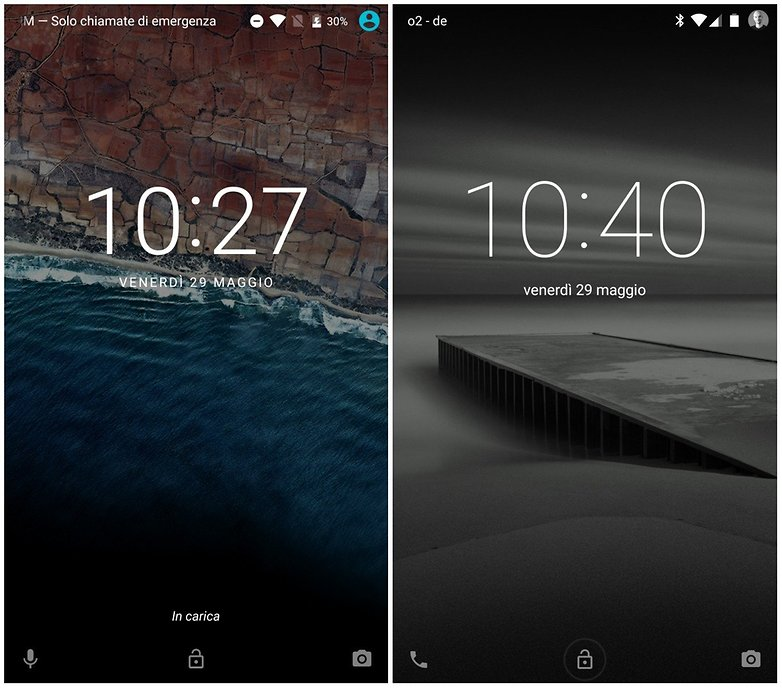 android l vs android m lock