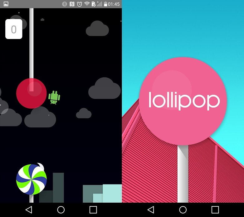 android lollipop flappy droid IT
