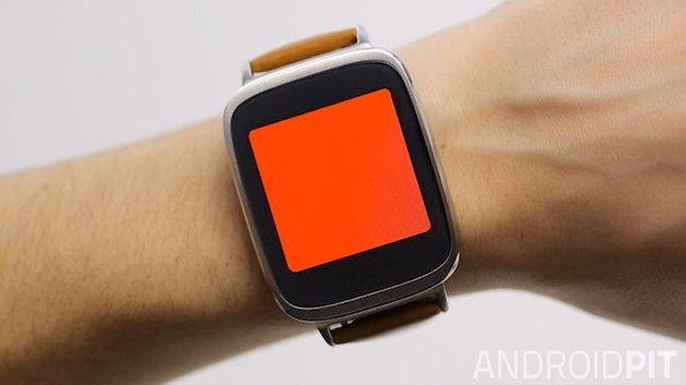 asus zenwatch flashlight
