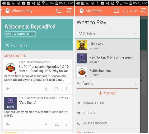 beyondpod app