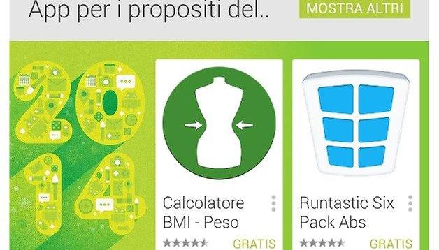 App per i buoni propositi del 2014