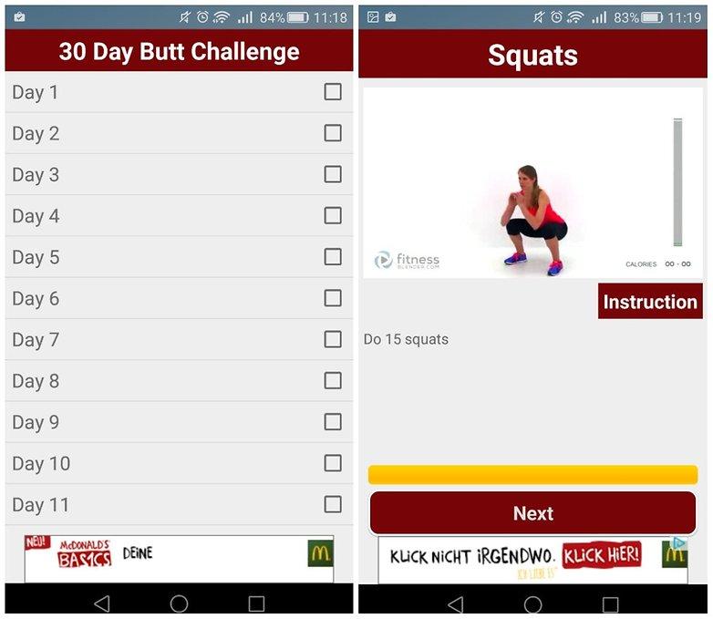 butt challenge