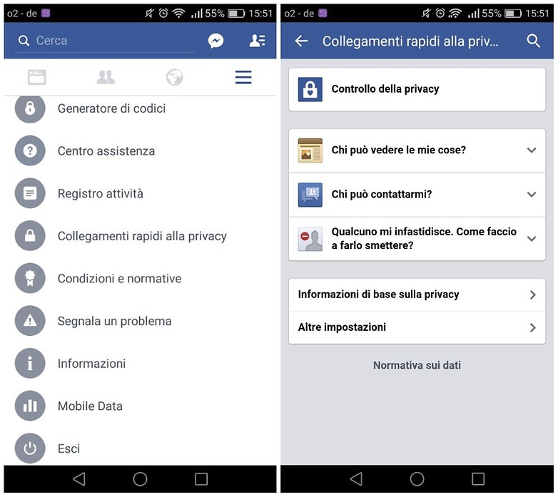 facebook controllo privacy