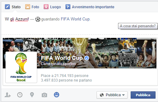 facebook world cup