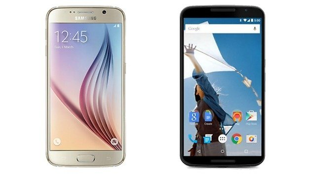 galaxy s6 vs nexus 6