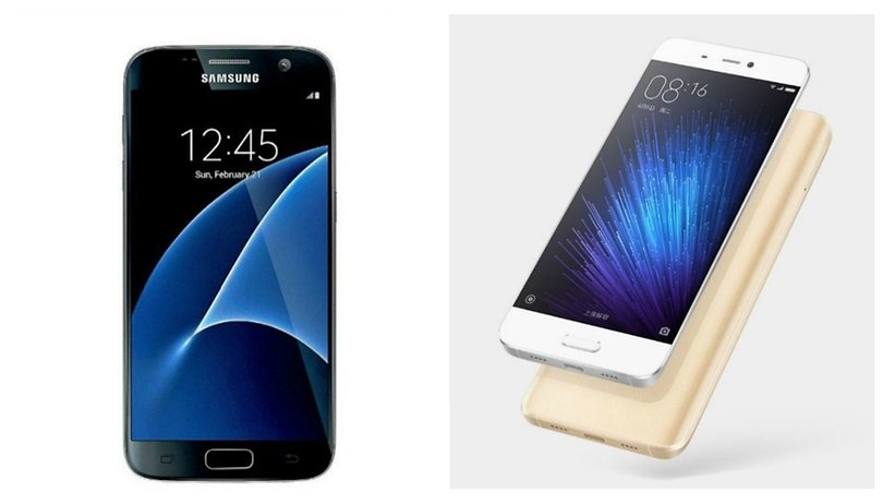 Xiaomi Mi5 vs Samsung Galaxy S7: l'ora del giudizio (iniziale)!