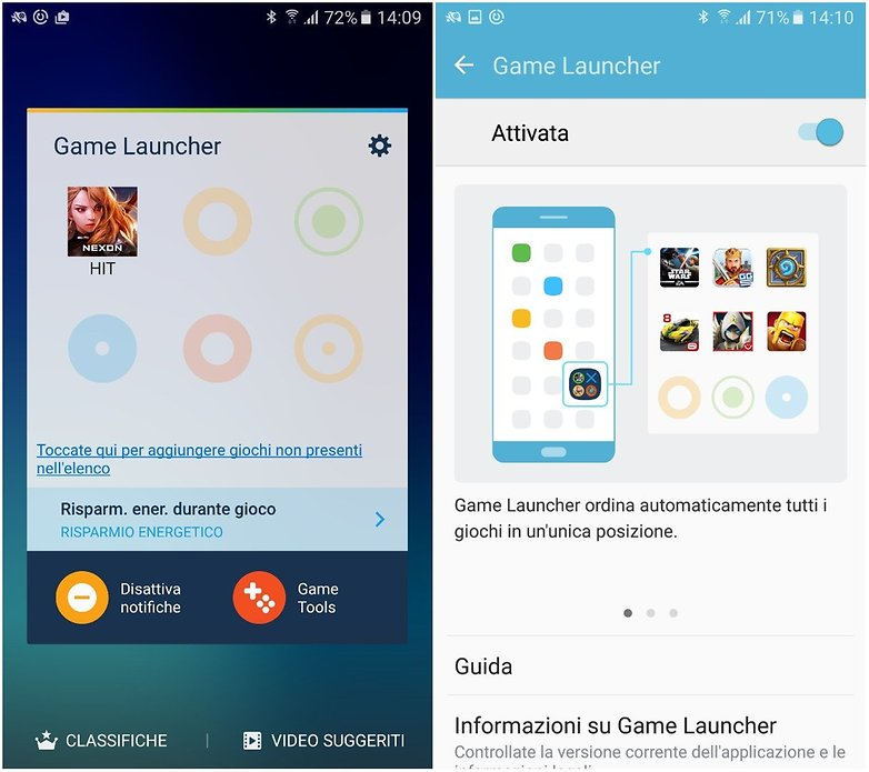 game launcher ita
