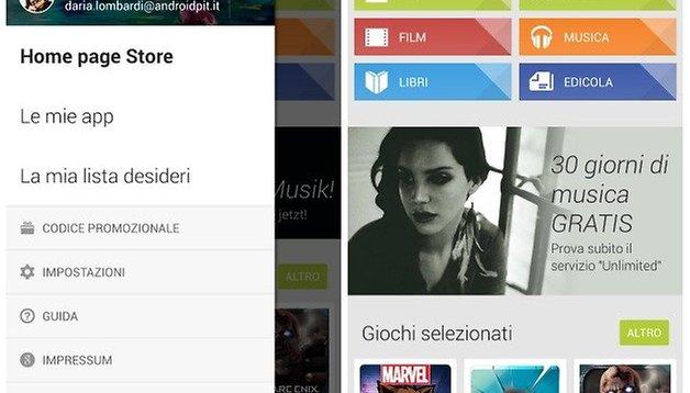 Android L: il Material design arriva nel Play Store