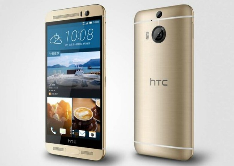 htc one m9 plus front