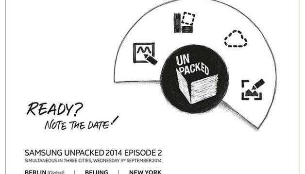 Samsung Unpacked 2014: il Galaxy Note 4 è ufficiale!