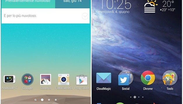 Optimus UI vs. Android Stock: interfacce a confronto