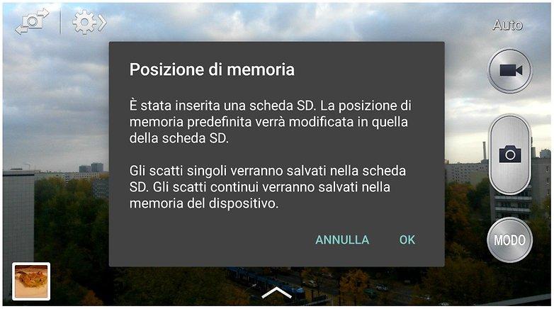 posizione memoria