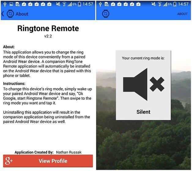 ringtone remote