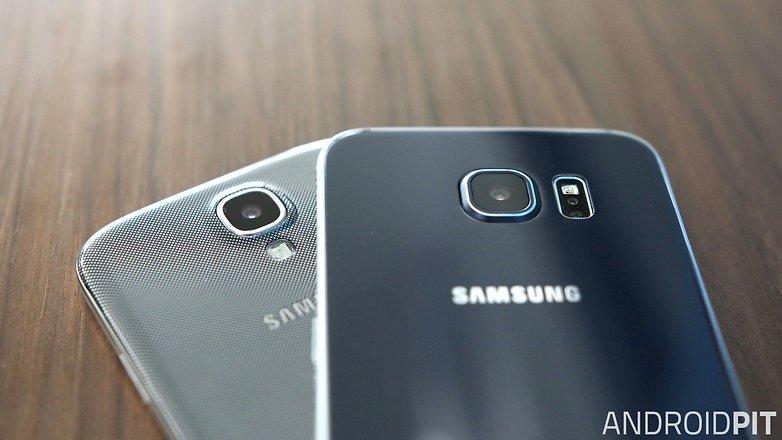 samsung galaxy s6 vs s4 camera