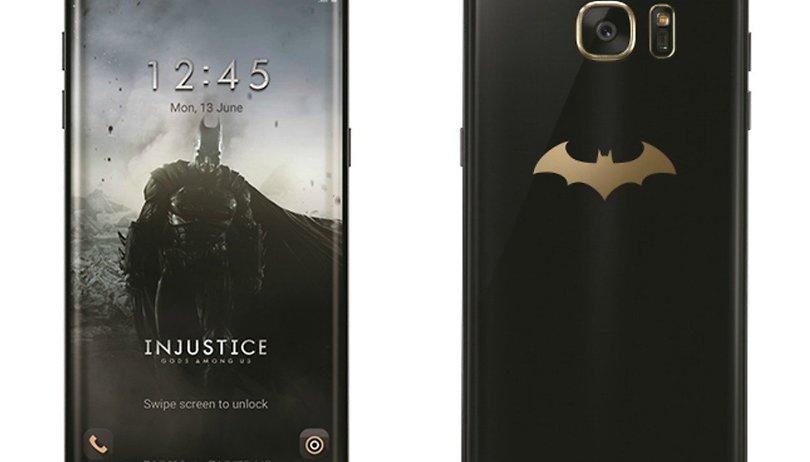 Il Samsung Galaxy S7 Edge si traveste da Batman in un'edizione limitata!