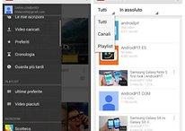 Aggiornamento di YouTube: nuove funzioni e una nuova interfaccia