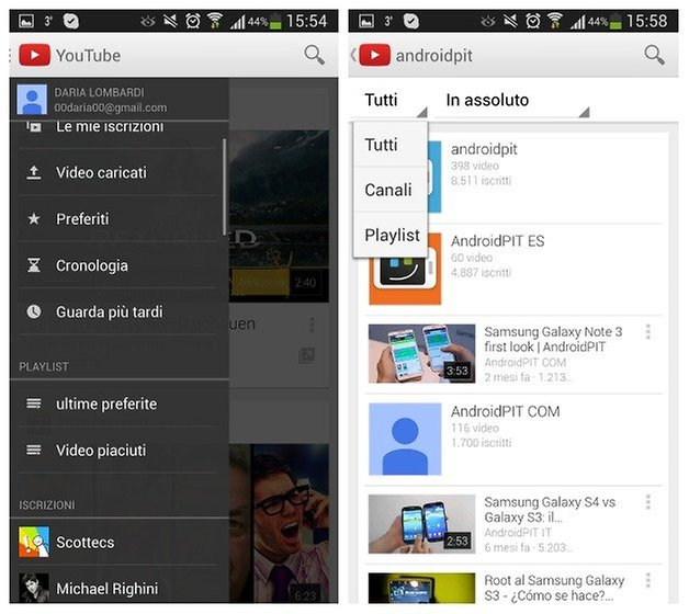 screenshot youtube