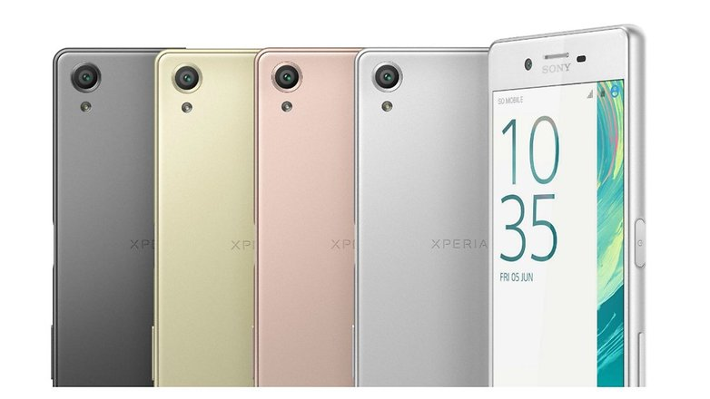 sony xperia x devices