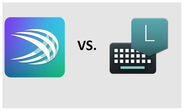 SwiftKey vs androidl