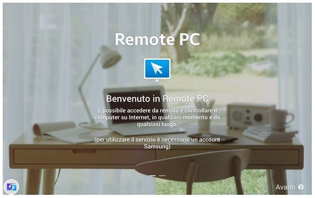 tab s pc remote