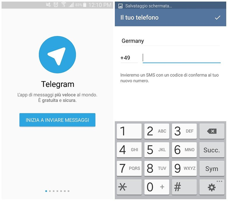 telegram registration