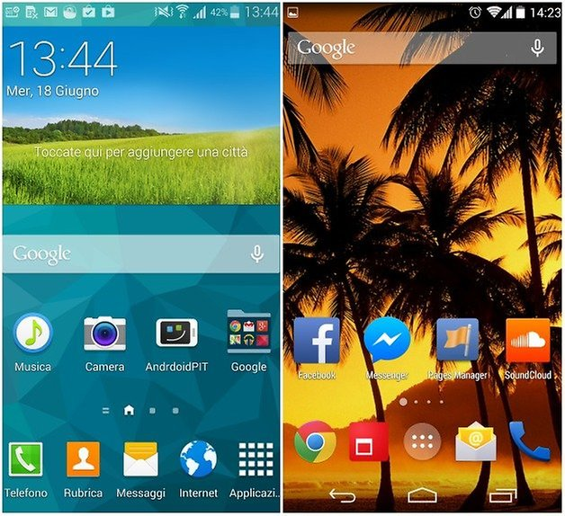 touchwiz android home