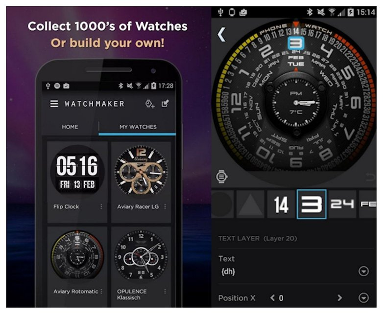 watch maker android wear