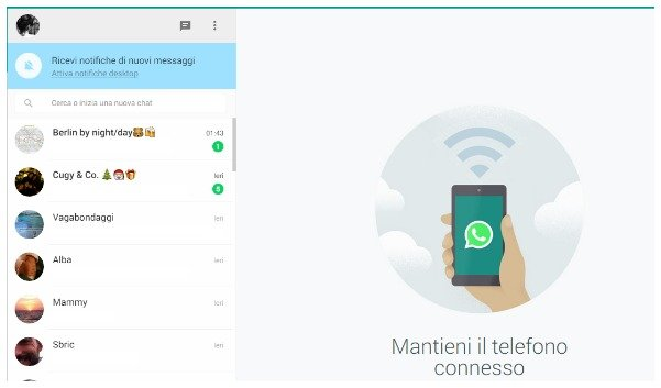 whatsapp web it