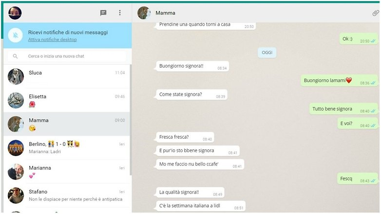 whatsapp web italy