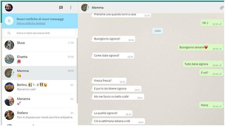 whatsapp web italy